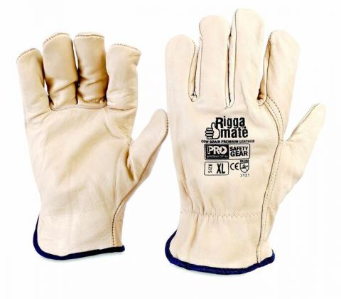 Leather Riggers Gloves_0