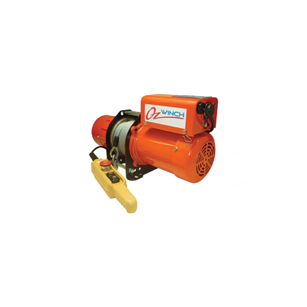 Oz_winch_240V_single_phase_electric_winch