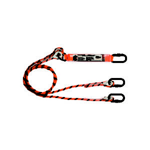linq_double_leg_kernmantle_rope_lanyard_2m_shock_absorb_KSx3_hardware_elevate_lifting_hoisting_equipment_specialist